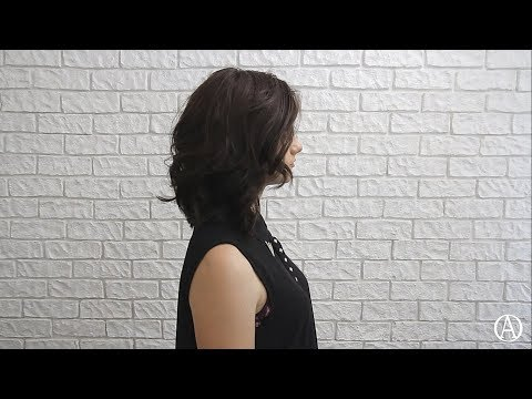 Стрижка на среднюю длину / Popular haircut 2018