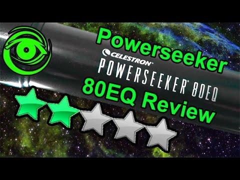 Celestron Powerseeker 80EQ Review