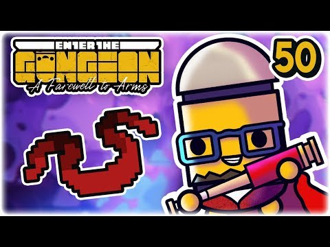 Red Scarf Redemption | Part 50 | Let's Play: Enter the Gungeon: Farewell to Arms | PC Gameplay