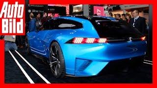 Quick Shot: Peugeot Instinct Concept - Der autonome Sport-Löwe /Messe/Neuvorstellung/Premiere