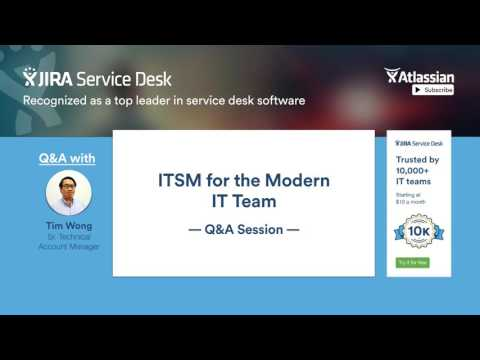 ITSM for the modern IT team - Q&A session (part 2/2)
