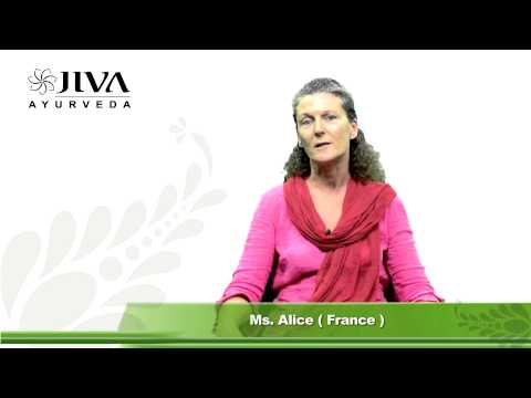 Advanced Ayurvedic Counsellor Course | Review of Ms. Alice