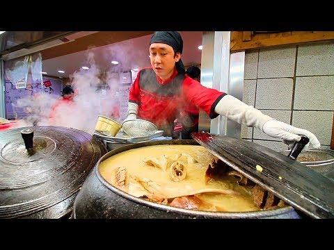 INCREDIBLE Korean Street Food Tour in Gangneung, Korea | BEST STREET FOOD in KOREA + SPICY BURGER