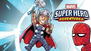 Marvel Super Hero Adventures: Mealtime Mayhem w/ Andy Daly! | Marvel Read!