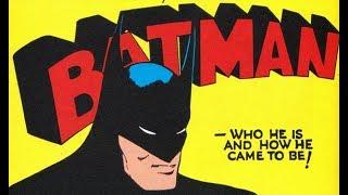 BILL FINGER, The True Creator of Batman | Nerd Boy Comics