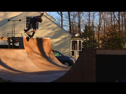 Mini Ramp Session With Ben Hatchell