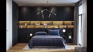 Beautiful Interior Black Bedrooms 2018