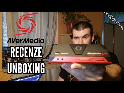 AVerMedia Live Gamer Portable 2 Plus RECENZE - UNBOXING