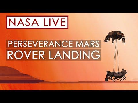 Kyk regstreeks na Perserverance se landing op Mars