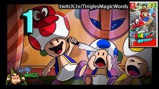 Tingles Plays   Super Mario Odyssey Episode 1