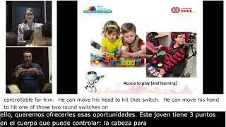Juego libre en niños con discapacidad motora severa