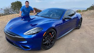 Karma Revero GT Sport Review - The Ultimate EV Sports Sedan? by Vehicle Virgins