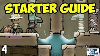 Oxygen Not Included - Tutorial Guide (2018) #4 - Liquid Lock & Infinite Water Bathroom
