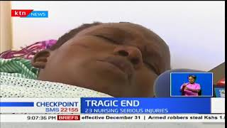 Woman loses her family in a tragic road accident at Migaa