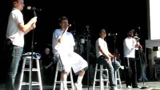 "Backstreet Boys -Unbreakable Tour 2008- ""Unsuspecting Sunday Afternoon"" Dayton, Ohio 08/09/2008"