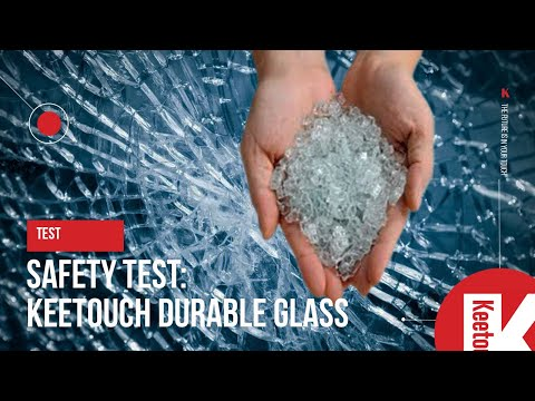 Test: Keetouch GmbH durable glass safety check