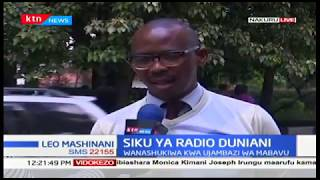 Siku ya redio yaidhinishwa duniani huku wanahabari wakielezea safari yao redioni