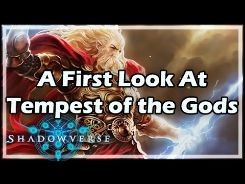 [Shadowverse] A First Look At Tempest of the Gods #ad