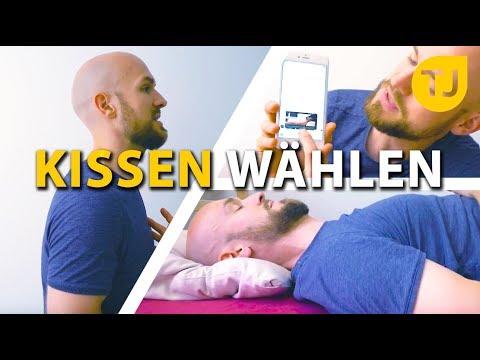 SCHLAFEN: Schultern, Nacken - Richtiges Kissen wählen