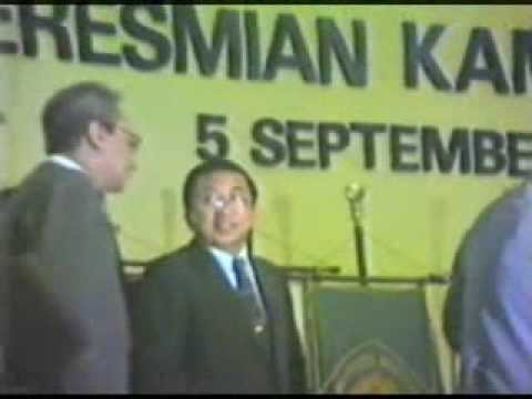 Peresmian Kampus UI 5 September 1987