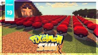 PIXELMON SUN : 100 LUCKY BLOCKS SUITE ! | Ep.19 - Minecraft Moddé Pokémon