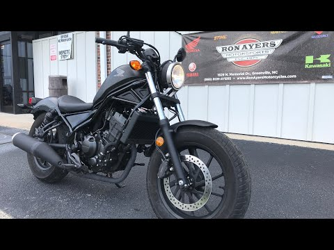 2019 Honda Rebel 300 ABS in Greenville, North Carolina - Video 1