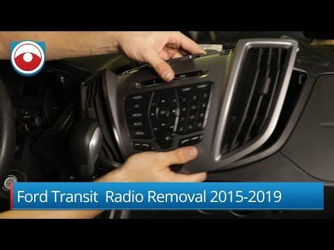 Ford Transit | Radio removal 2015-2019