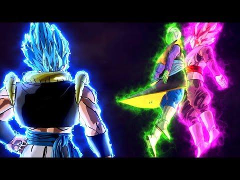NEW Mid Battle Potara Fusion In Dragon Ball Xenoverse 2 Mods!