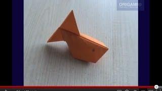 Рыба надувная оригами