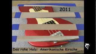 Bau einer Bassgitarre - vom rohen Holz zum Instrument