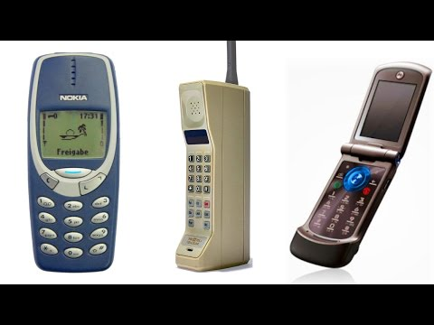 Top 10 Iconic Cell Phones