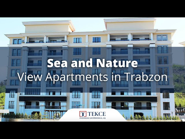 Trabzon Apartments with Breathtaking Sea and Nature View