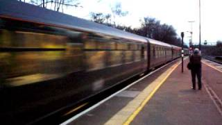 preview picture of video '70013 Oliver Cromwell on the Golden Arrow at Swanley  Sat. 14th March 2009'