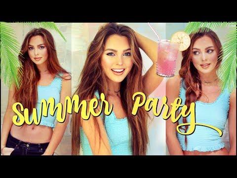 Summer Party Makeup & Hair Tutorial | Wearable Mermaid?