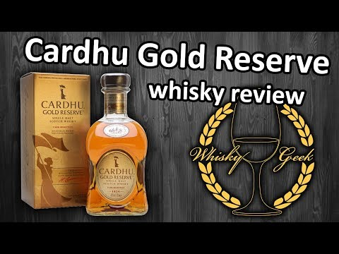 Cardhu Gold Reserve. Whisky review #009