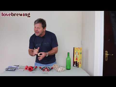 Bottling, Cleaning, Corking & Storage