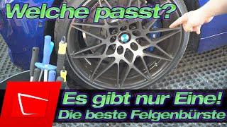 Das ist meine Nummer 1 - Die aktuell beste Felgenbürste für enge Ritzen! BMW M4 Competition Felge