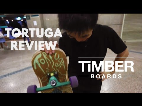 BEST DANCING FREESTYLE LONGBOARD EVER!? REVIEW : TIMBER TORTUGA