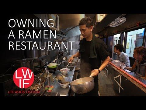 Jaké to je vlastnit rámen restauraci?