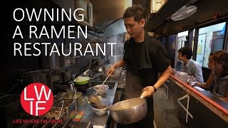 Je eigen ramenrestaurant is hard werken