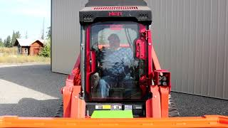 Kubota SVL95-2 Defender Ballistic Door and Cooler Walk Around