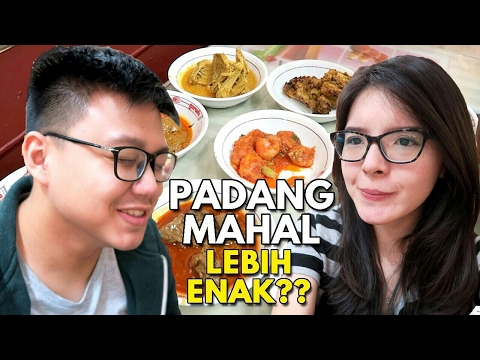 Video Nasi Padang Rp15.000 Vs Rp 60.000 !!! Worth It ??