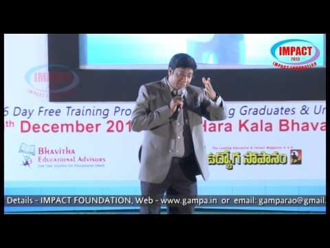 Thoughts| Bhogadhi Raj |TELUGU IMPACT Hyd Dec 2013