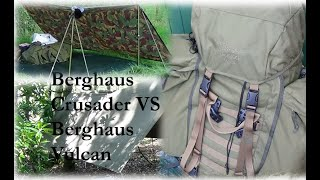 Berghaus Crusader VS Berghaus Vulcan - 72 hour Bug out bag