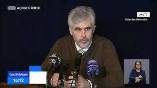 29/03: Ponto de situação da Autoridade de Saúde Regional sobre Coronavírus nos Açores