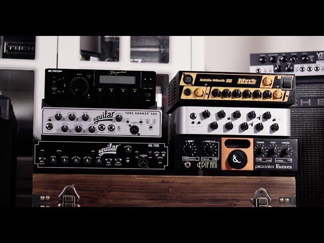 6 Class D bass amp comparison:Bergantino、Aguilar、Epifani、Markbass、Darkglass