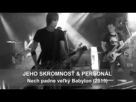 """Sveťo Korbeľ & Personál - JEHO SKROMNOSŤ & PERSONÁL - Nech padne veľký Babylon /album """"Žia"""