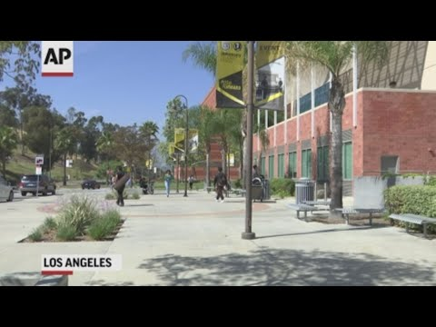 Hundreds of students and staff at two Los Angeles universities have been placed under quarantine because they may have been exposed to measles and either have not been vaccinated or cannot verify that they are immune, officials said Thursday. (April 25)