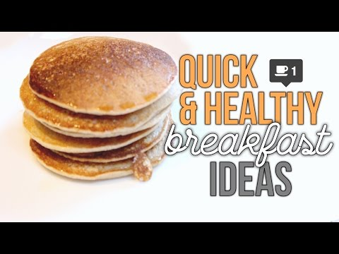 Video Super Quick & Healthy Breakfast Ideas! | Reese Regan