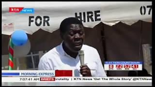 Water CS Eugene Wamalwa calls for peace